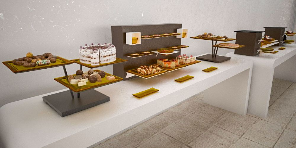 Previous; Next - Big Coffee Break Buffet Systems
