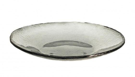 Gray Large Glass Bowls