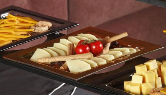 Cheese Big Rectangular Glass Platters