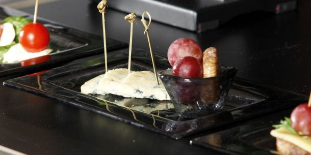 Cheese Small Glass Platters