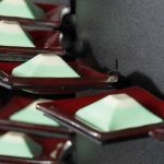 Gray Canape Mini Plates