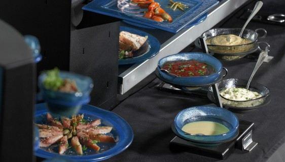 dressing buffet dressing bowl stands