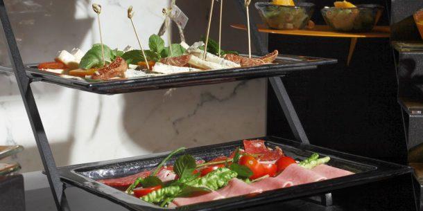 Fingerfood Big Rectangular Glass Platters