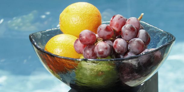 Fruit Big Glass Bowls