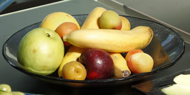 Fruit Large Glass Bowls