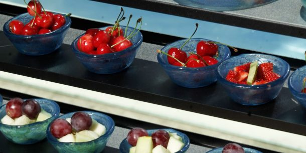 Fruits Canape Mini Bowls