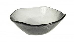 Gray Medium Glass Bowls