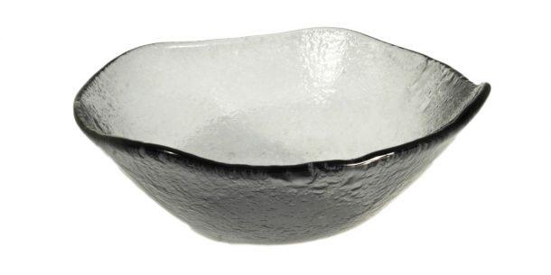 Gray Medium Glass Bowls