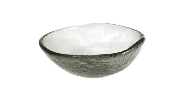 Gray Small Glass Bowls