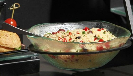 Rice Medium Glass Bowls