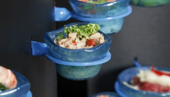 Salad Canape Mini Buffet Bowls