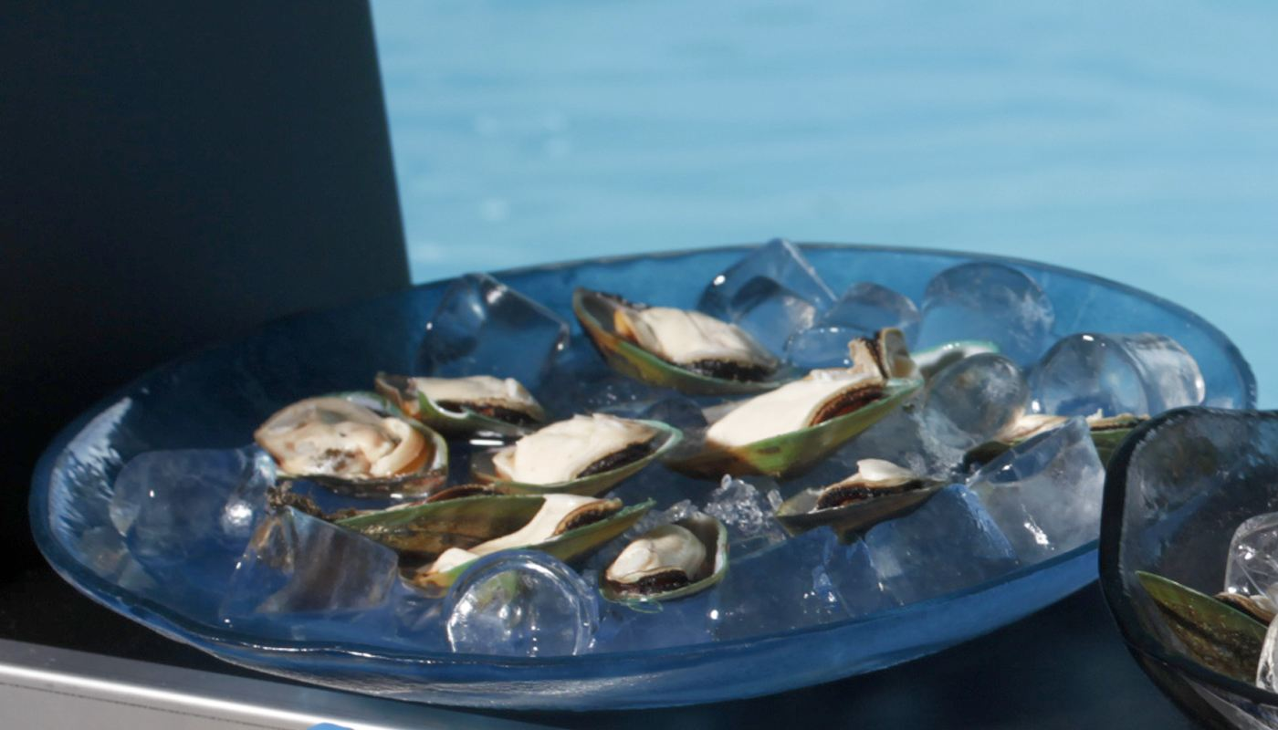 Seafood Large Glass Bowls