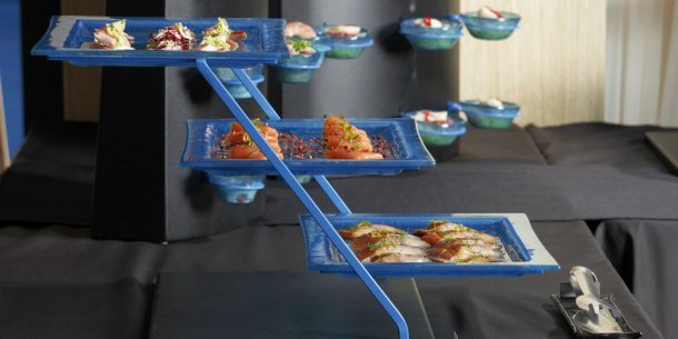 seafood three Tier Plate Stands