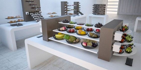 whole fruit brunch buffet system